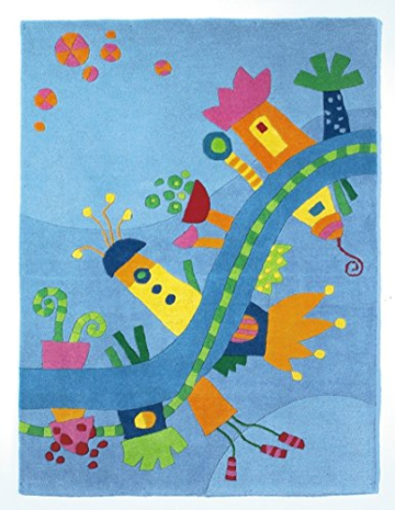 Kinderteppich grün haba  HABA 2936 Traumland Teppich | Kinderteppich Vergleich