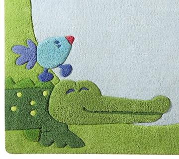 Kinderteppich grün haba  HABA 3086 - Teppich Dschungel | Kinderteppich Vergleich