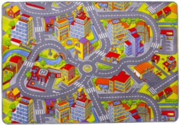 misento 293303 Kinder- / Spielteppich Straße, 140 x 200 cm -